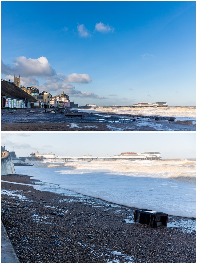 Cromer Storm and Tidal Surge 2013 Photographs - Norfolk Event Photographer